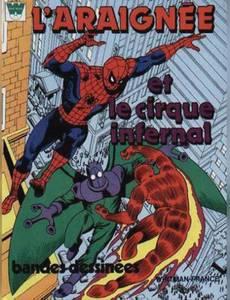 Couverture de l'album L'Araignée et le Cirque Infernal